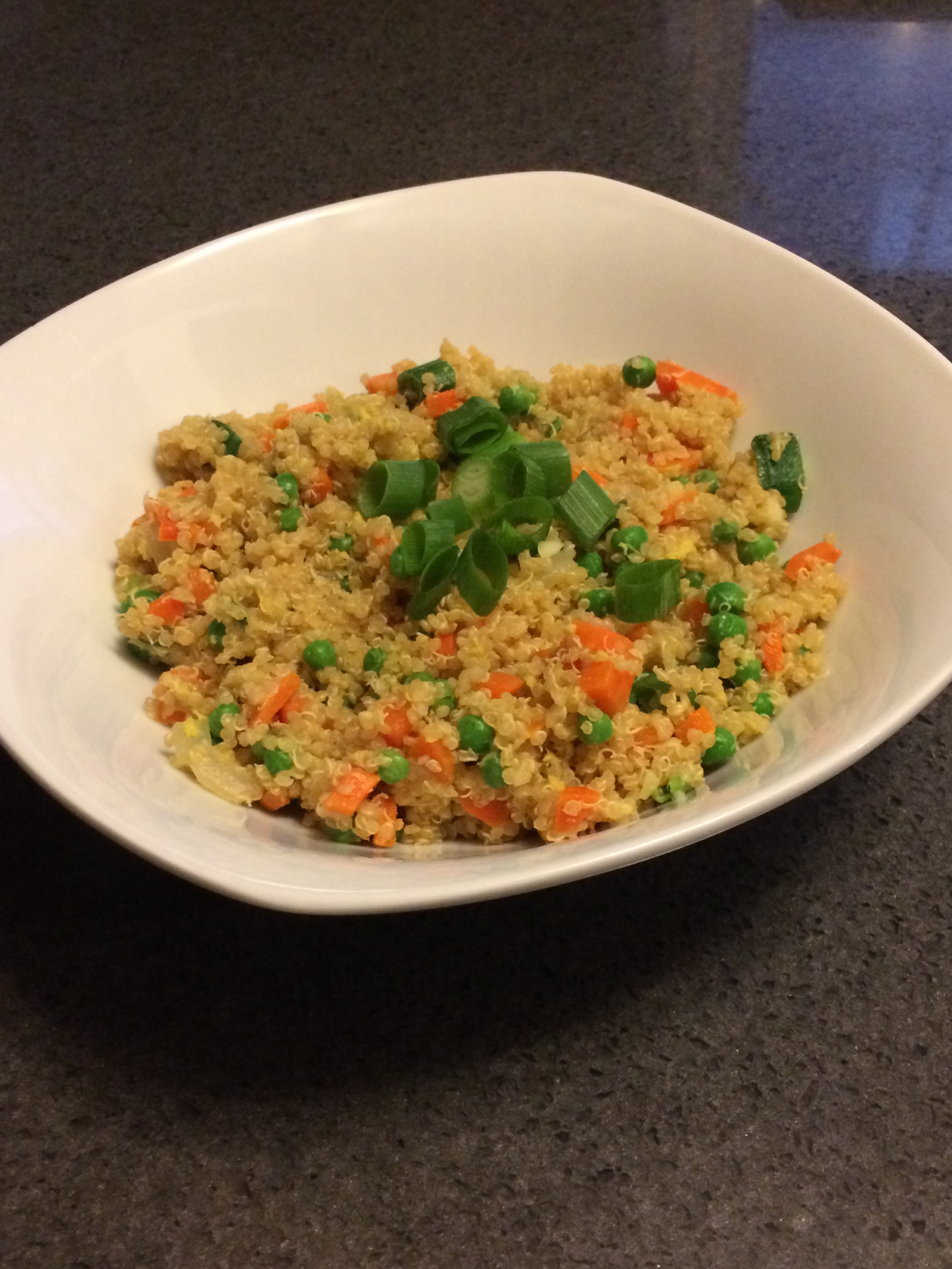 Quinoa Fried Rice: Quick & Easy Sunday Dinner